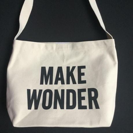 "DRESSSEN  SHOULDER BAG DB20""MAKE WONDER ""※公式オンラインストアのみの販売です。"