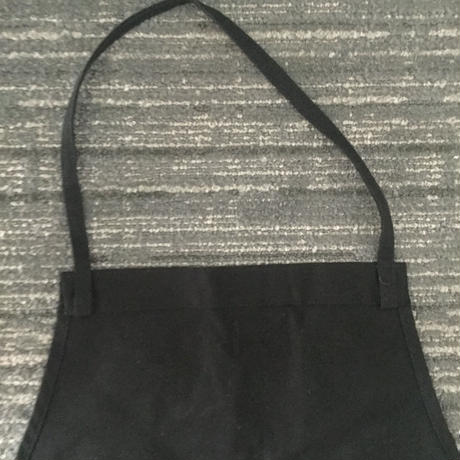 "[新色] DRESSSEN ADULT APRON     DB(BLK)1  ""CALIFORNIA FEELING"" BLACK COLOR"