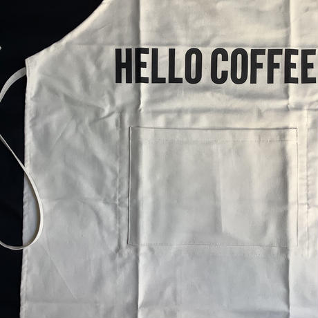 """DRESSSEN  DRV11  REVERSIBLE  APRON""""HELLO COFFEE/YES!RELAX  TIME!(リバーシブルエプロン)"""