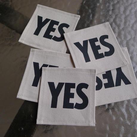 """🔴新発売  DRESSSEN  COA1  COASTER DAY GOODS  """"YES"""" ※こちらは5枚セットの販売です。"""