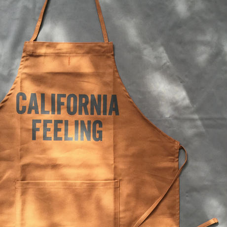 "DRESSSEN DR(BRN) 14APRON  ""CALIFORNIA FEELING""  BROWN  COLOR"