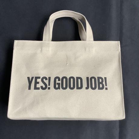 """🔴新発売DRESSSEN MBAXS5   MARKET  BAG [XーSMALL ]""""YES!GOOD JOB!/ DRESSSEN    (サンドベージュカラー)"""