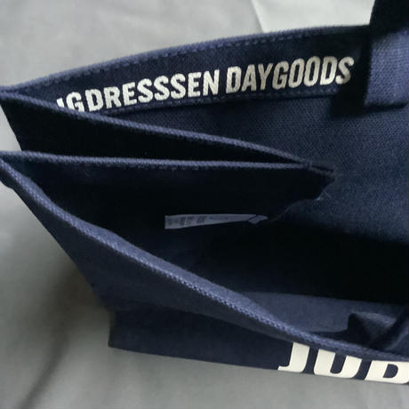 DRESSSEN  MARKET BAG (LARGE)  MBALNY1  YES! GOOD JOB!※DARK NAVY COLOR