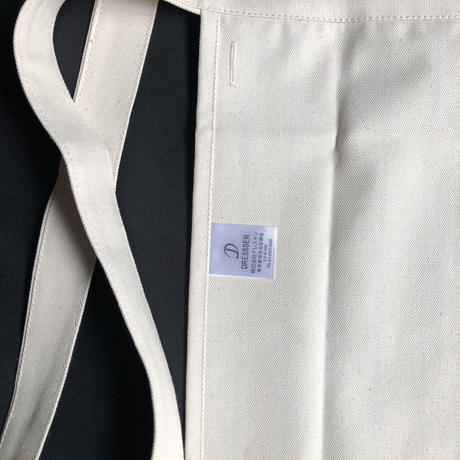 "⭕️新色 DRESSSEN LWLS1 LOWER WALL ""STRIPE"" APRON    NATURAL   COLOR"