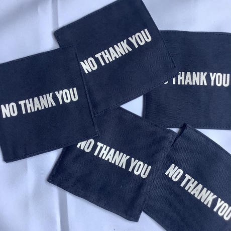 "⭐️新発売  DRESSSEN   REVERSIBLE COASTER ""YES/NO THANKYOU (DARK NAVY COLOR)"