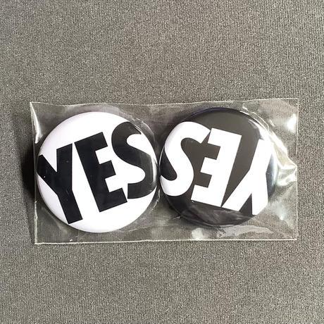 ⭐️[新発売!] DRBS DRESSSEN 缶バッジ2個セット(YES  WHITE &YES BLACK)