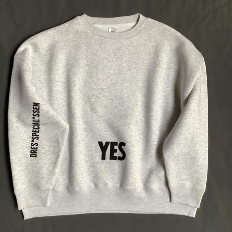 "DSS11 DRES""SPECIAL""SSEN  SWEAT  SHIRTS  YES/NO THANKYOU(GREYCOLOR)   BLACKロゴ🟠次回入荷未定です"