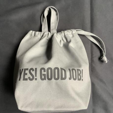 """🔴新発売 SMDG3 DRESSSEN SMALL DAY BAG""""YES!GOOD JOB!/ DRESSSEN """"(GREY COLOR)"""