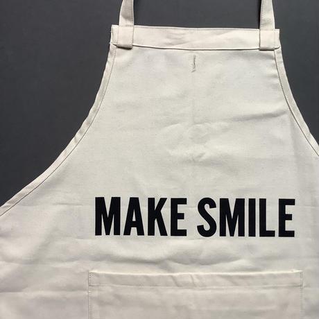 """DRESSSEN  DRV13 REVERSIBLE  APRON""""MAKE BEAUTIFUL/MAKE SMILE(リバーシブルエプロン)"""