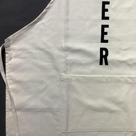 """DRESSSEN ADULT APRON  #89""""BEER""""(縦ロゴ)"""