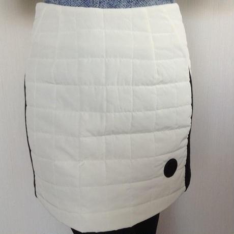 【SALE】キルティングスカート♡ホワイト