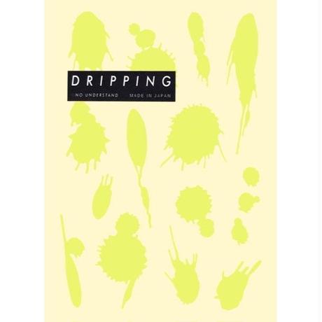 DRIPPING Sticker M(シトロングリーン)