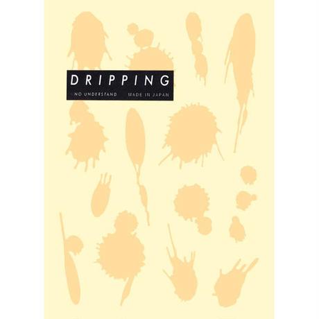 DRIPPING Sticker M(アイボリー)