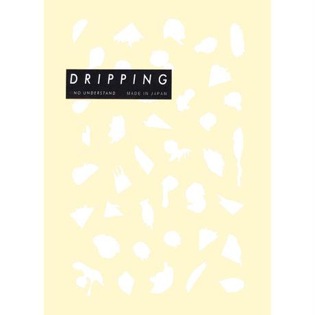 DRIPPING Sticker M 39(ホワイト)