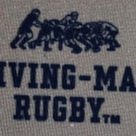 DRIVING-MAUL RUGBY ロゴ マスク  MEDIUM GRAY * NAVY