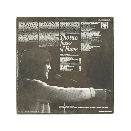GEORGIE FAME - THE TWO FACES OF FAME - LP