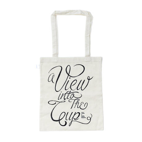 "Tote Bag ""a view into the cup"" for manu coffee S"