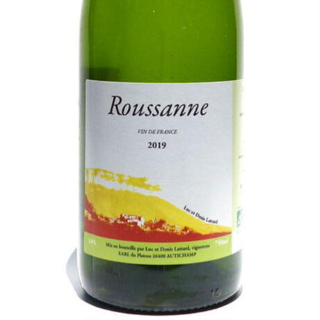 Roussanne  2019 ルーサンヌ