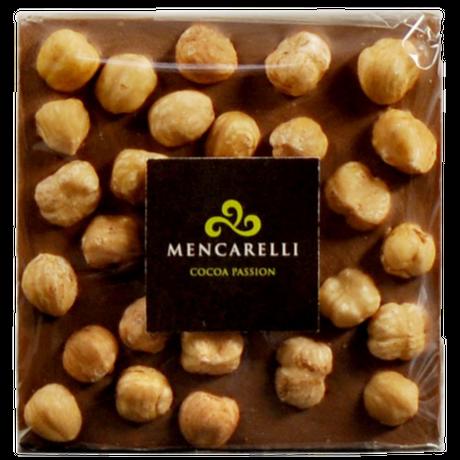MILK CHOCOLATE AND HAZELNUT