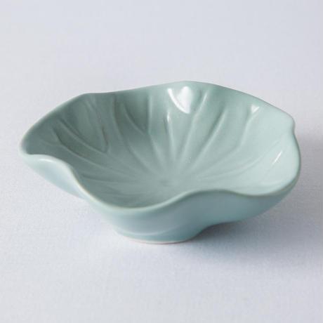 ジェンガラ デヴィ・コレクション ロータスリーフプレートS(Lotus Leaf Plate S)マットグリーン