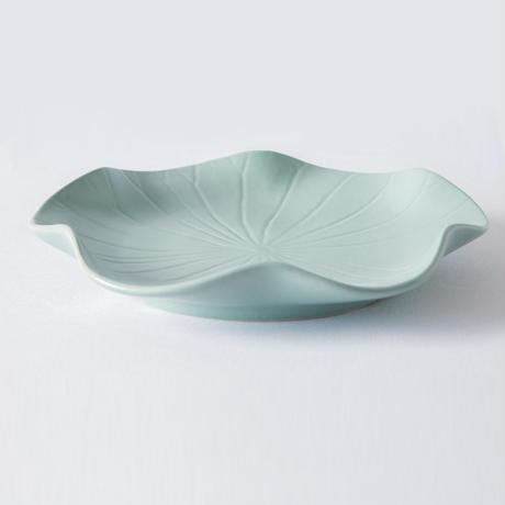 ジェンガラ デヴィ・コレクション  ロータスリーフプレートL(Lotus Leaf Plate L)マットグリーン