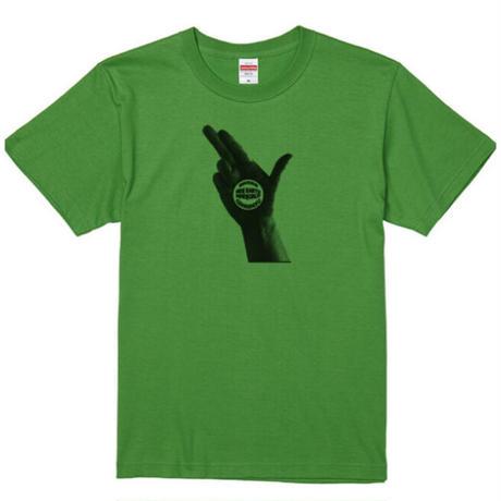 ナマステヤーマンTシャツB ブライトグリーン