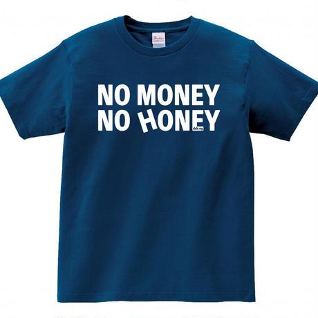 「NO MONEY NO HONEY TOUR2020」Tシャツ  [インディゴ]