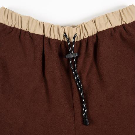Fleece Trouser / Brown - Beige