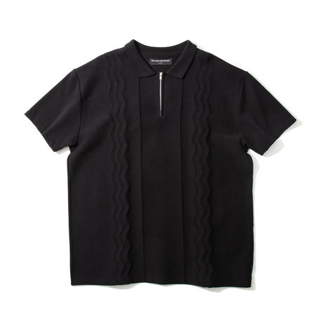 Swell Knit Polo (Black)