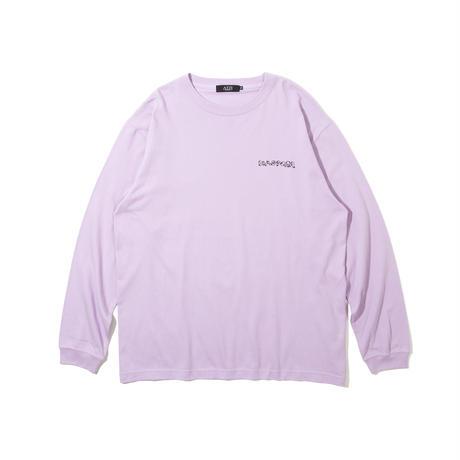 HW Magic Circle L/S Tee (Light Purple)