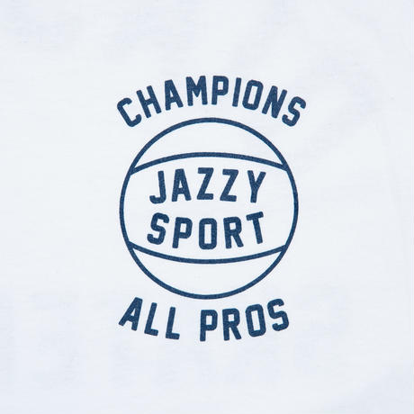 "Jazzy Sport x Diaspora skateboards  ""SYMBIOSIS"" TEE (White)"