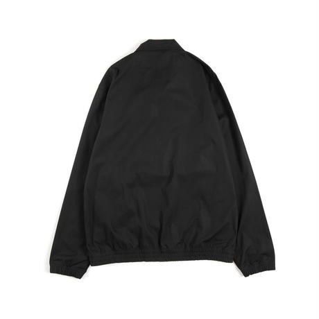 Half Zip Football Top (Black)
