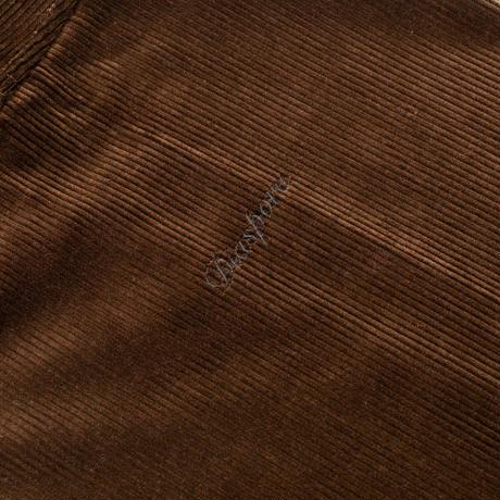 Corduroy Coach Shirt Jacket (Black)