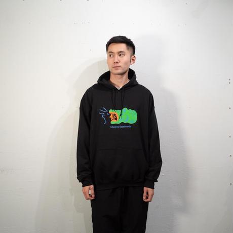 Croc Hooded Sweatshirt (Black)