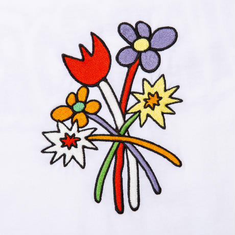 Bouquet S/S Tee (White)