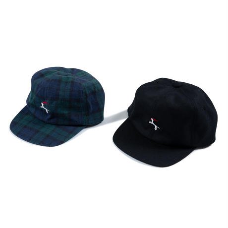 DET Coatish Wool 6-Panel (Black)