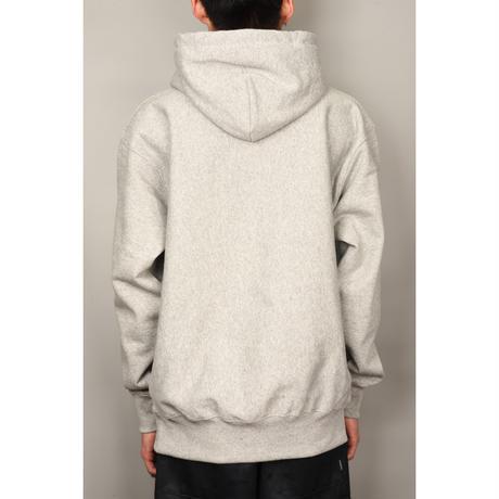 6 Elements Embroidered Hooded Sweatshirt (Mix Grey)