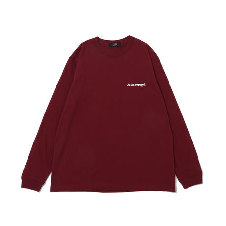 Chorus Magic Cirle  L/S Tee (Burgundy)