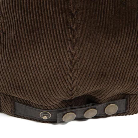 Bitter Cords Soft Visor Cap (Brown/Dark Olive)