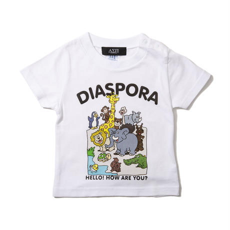 Greeting Kids Tee (White)
