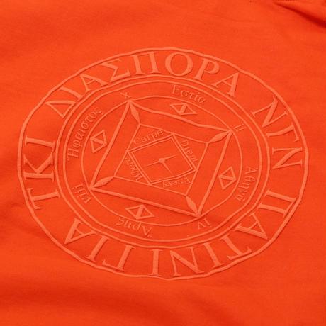 Tonal Magic Circle Hooded Sweatshirt (Orange)