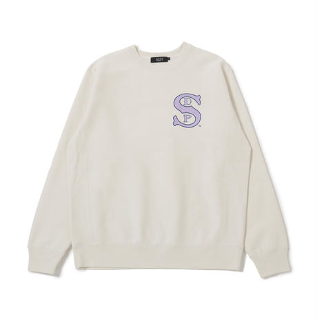 B-Ball Crewneck Sweatshirt (Bone)