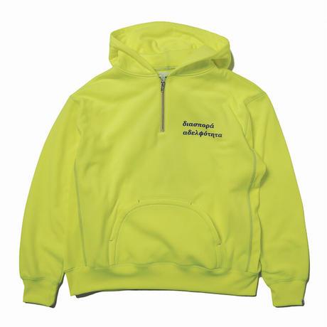 Hombre Nino / Double Logo Hooded Sweatshirt (Yellow)