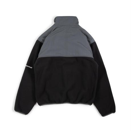 Utility Fleece Pullover / Black - Grey