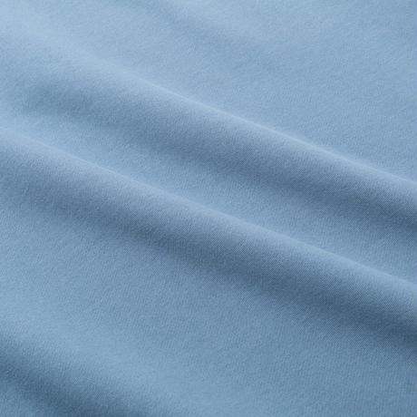 Long Letter Embroidered Half Zip Sweatshirt (Heather Grey)