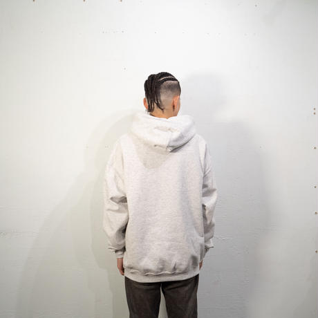 Croc Hooded Sweatshirt (Ash)