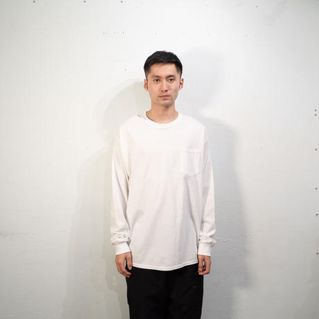 Relive L/S Pocket Tee (White)