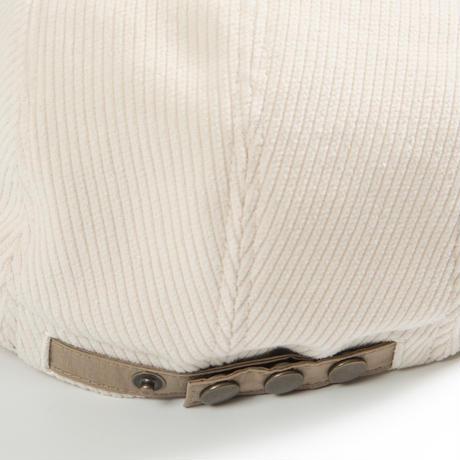 Bitter Cords Soft Visor Cap (White/Sand)
