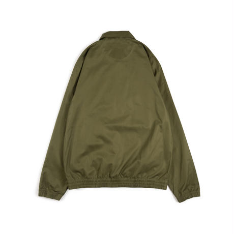 Half Zip Football Top (Olive)