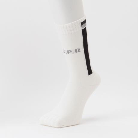 Lined Socks (White)